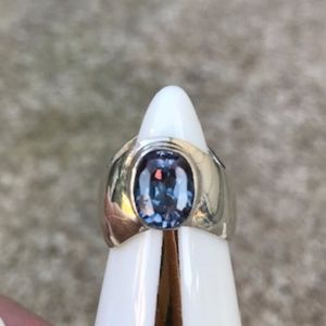 Jewelry - Sterling Simulated Alexandrite Ring